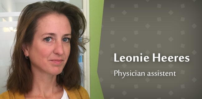 Physician Assistent - Leonie Heeres